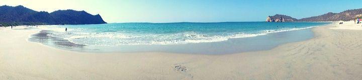 Los Frailes Beach Panorama