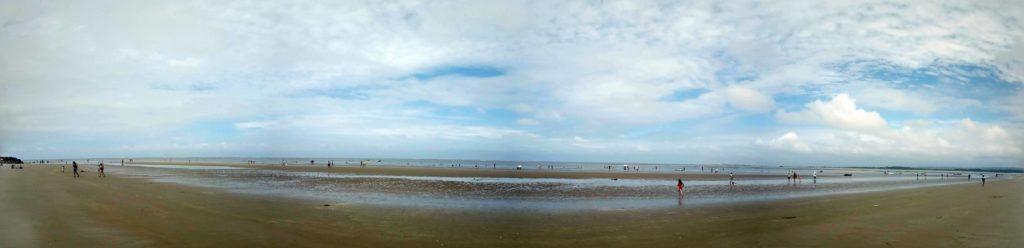 Cojimies Beach Ecuador Panorama