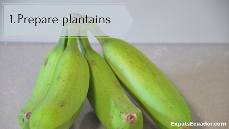 Bolon de verde - Prepare plantains