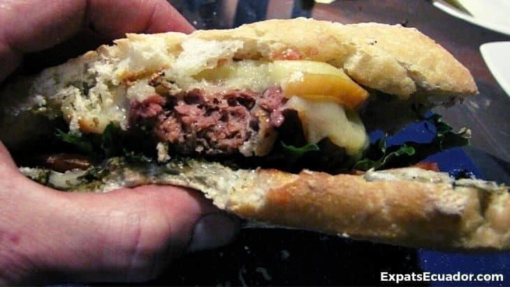Beyond Burger Ecuador Cooked