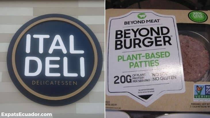 Beyond Burger Ecuador Ital Deli