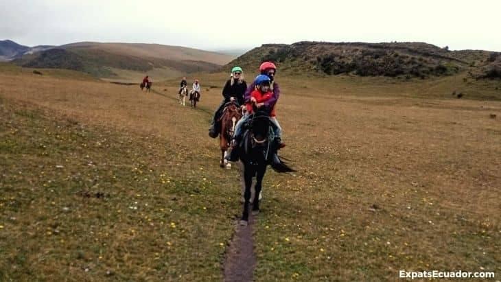 Cotopaxi Horse riding Ecuador