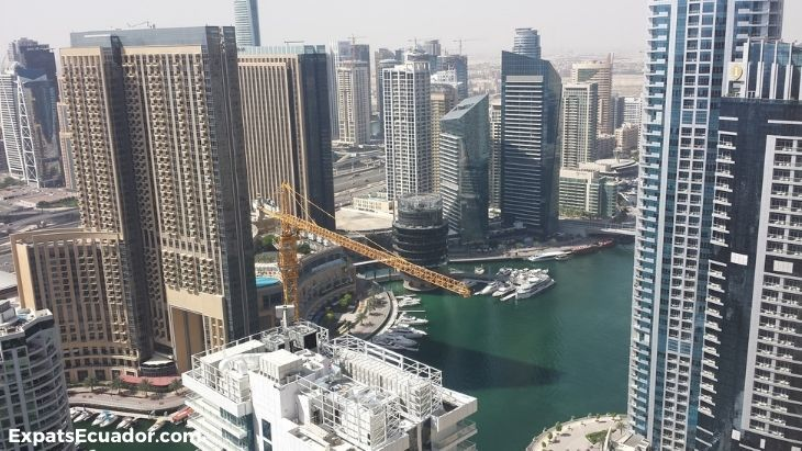 View from Dubai apartment