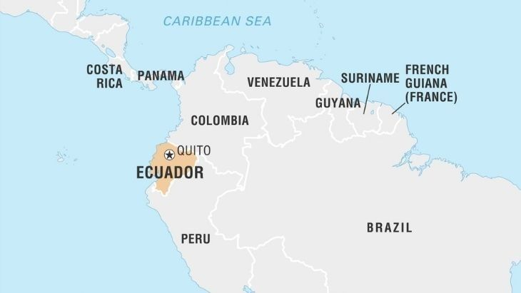 Where is Ecuador?