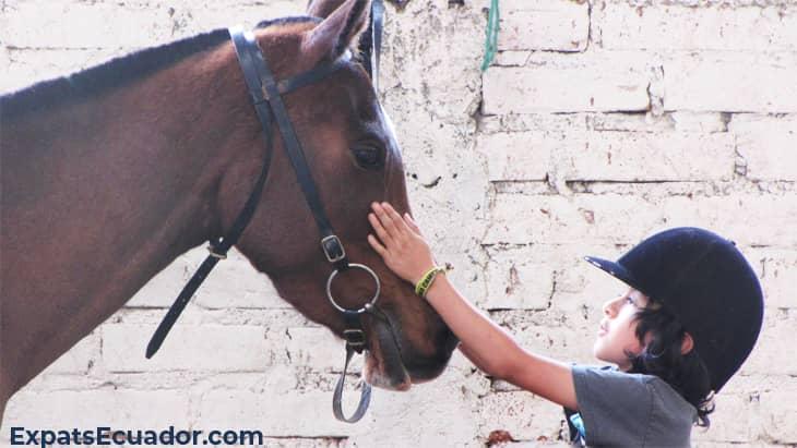 Centro Ecuestre Bellavista Horse Child