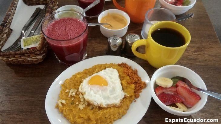 Tigrillo at La Gata Cafe Cuenca Ecuador