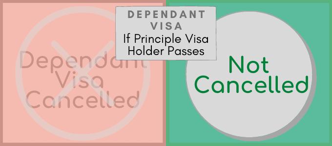 Dependant Visa Changes 2021 Principle Visa Holder Dies