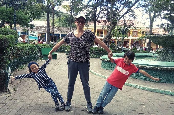 Family trip to Vilcabamba