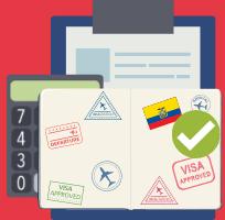 Ecuador Visa Eligibility Calculator
