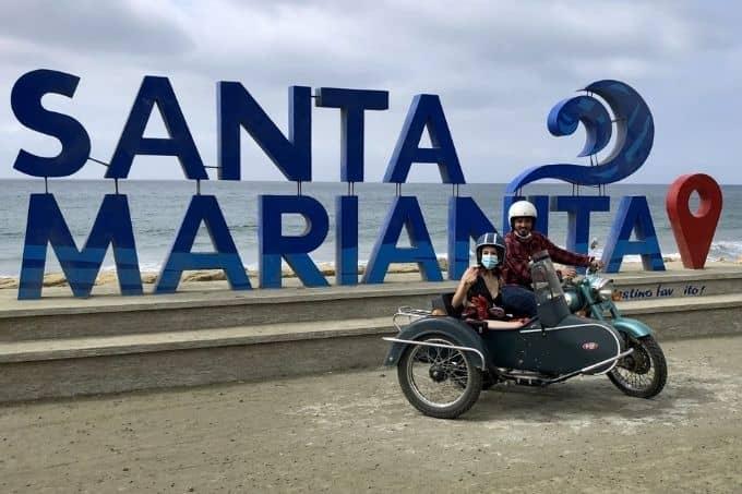 Sidecar motorcycle tours ecuador